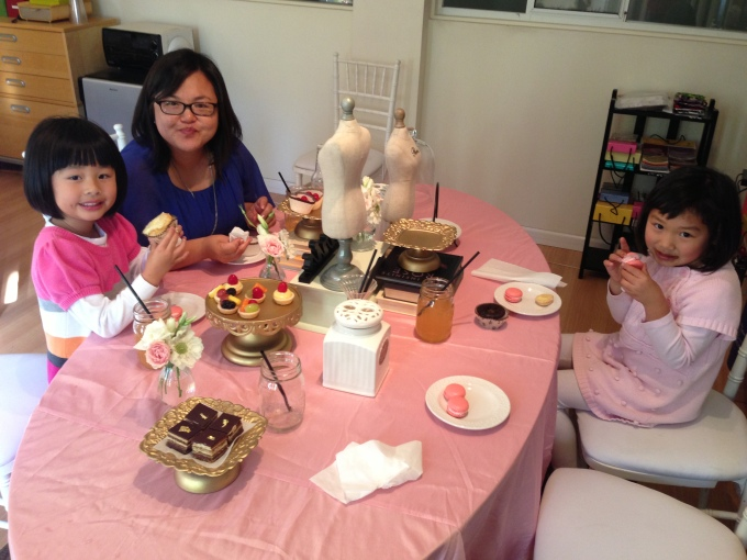 Thank you Nancy, for putting together such an exquisite afternoon tea for the girls!