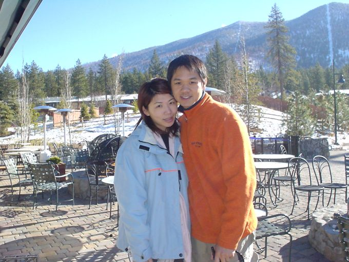 Skiing/Snowboarding in Lake Tahoe, 2003