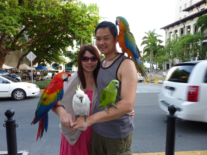 Visiting my extended family in San Juan, Puerto Rico, 2010