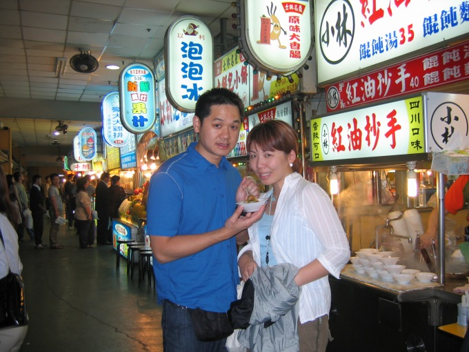 Eating our way through Taiwan, 2003