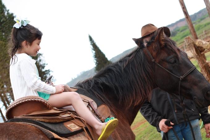 Horseback riding in Lanai