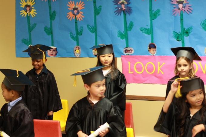 Pre-school graduation ceremony