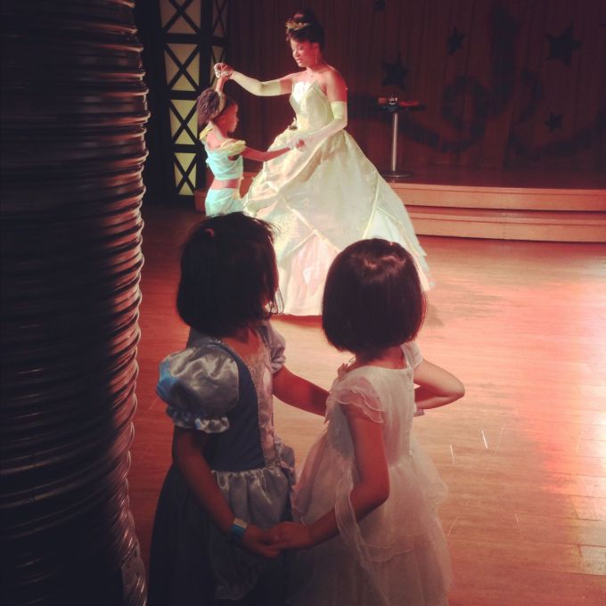 Learning to dance with Tiana