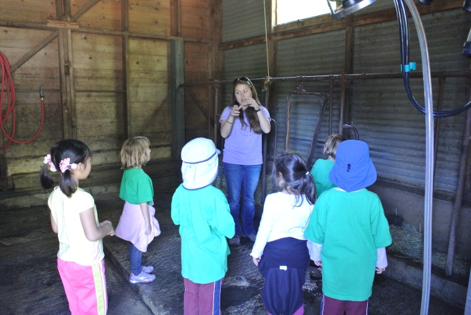 Learning where the cows are milked