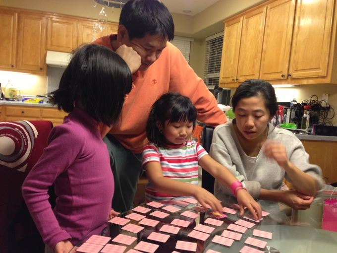 Game nights are big at our house, from Memory game to Pick Up Stix, to Uno and more!