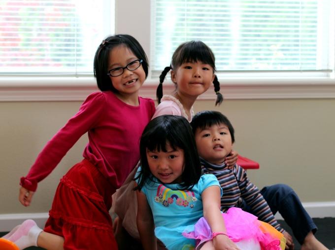 Bridgette and her buddies