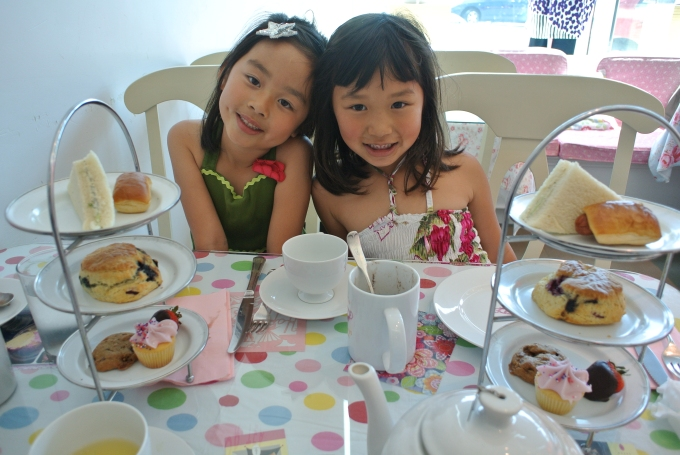 High tea at Crown and Crumpet
