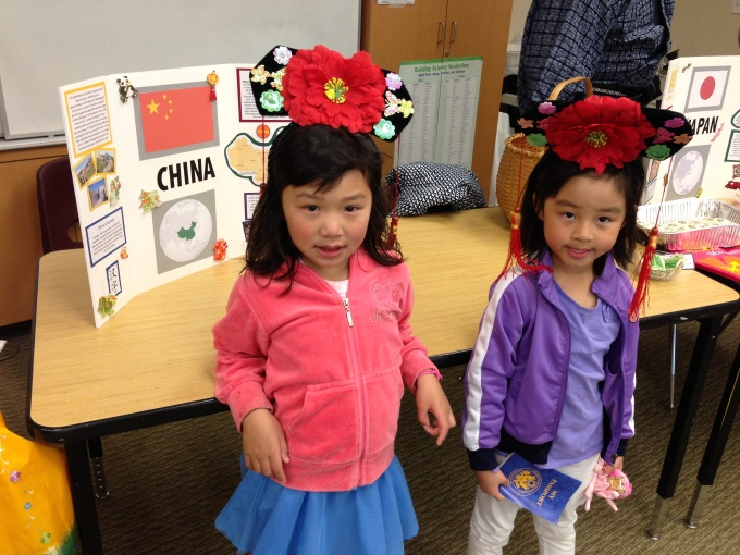 Cultural Potluck Night at the girls' school