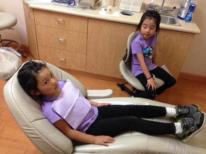 Dentist check up!