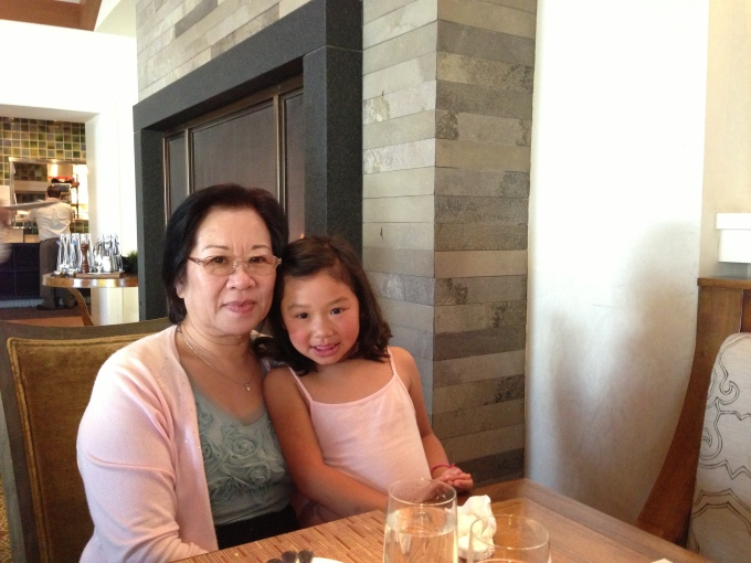 Mother's Day brunch at Madera with my mother in law