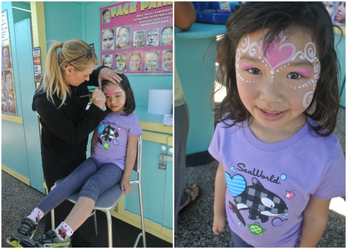 Gotta get her face painting!