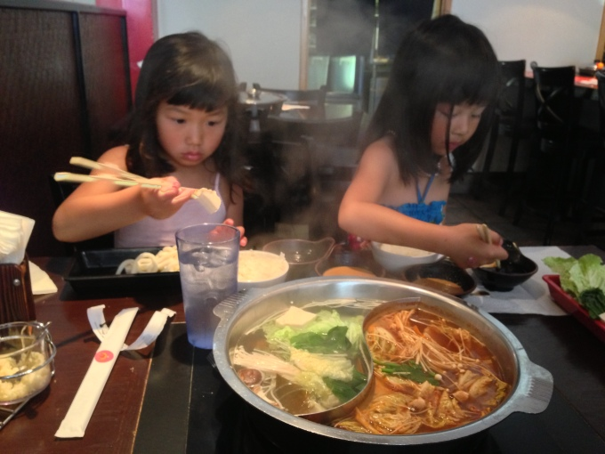 They love to shabu-shabu!
