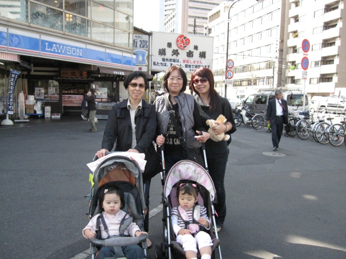 2008: Girls' trip to Tokyo with my mom, my mother in law, my sis, Brianne, and Bridgette