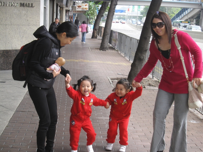 2009: Family trip to Hong Kong