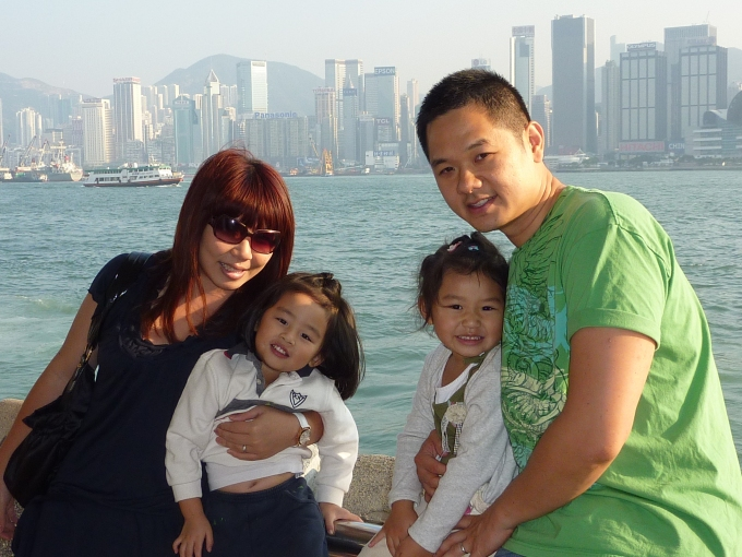 2010: Family trip to Hong Kong