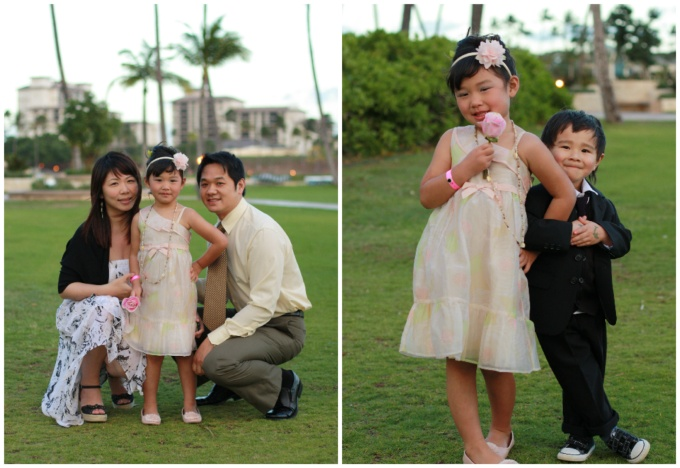 2012: Trip to Oahu to celebrate our cousin's wedding