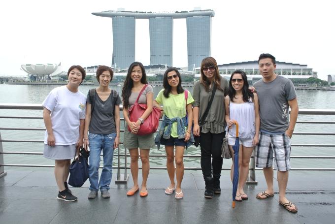 2013: Cousins' Singapore trip