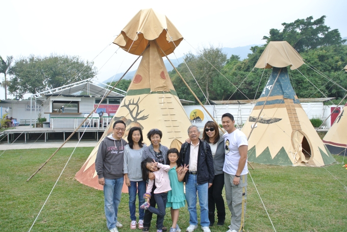 2013: Family trip to Hong Kong