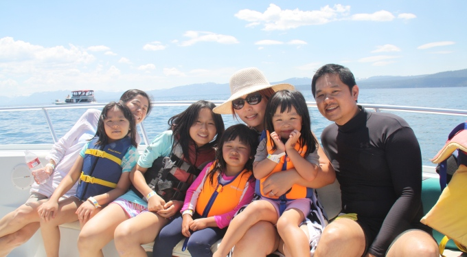 2011: Family/cousins' trip to Lake Tahoe