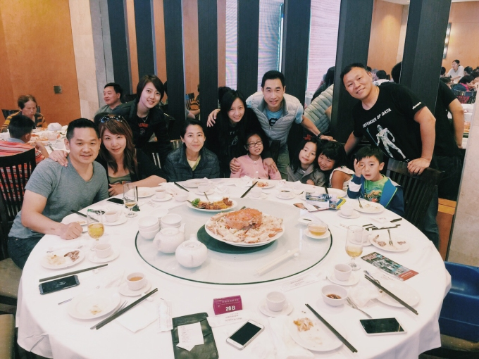 Met up with our Disney Cruise group for dinner at Sun Shui Wah