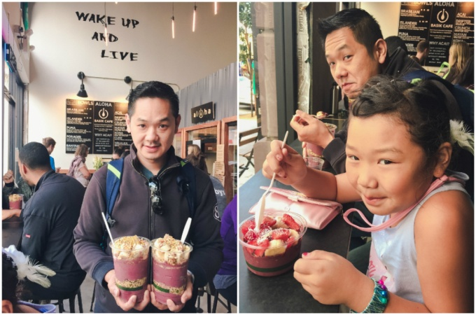 Basik Cafe is our new favorite weekend spot. Their acai bowls are THE BEST!