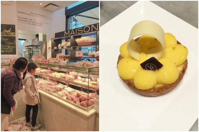 So hard to decide on yummy pastries and desserts!