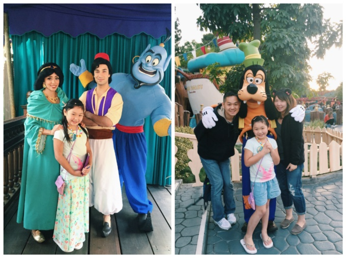 Never too old to rub shoulders with our favorite characters :)