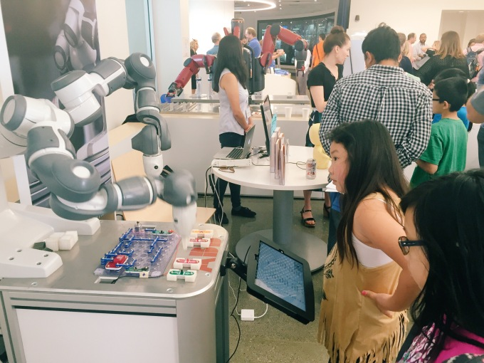 Robotic fair in San Jose