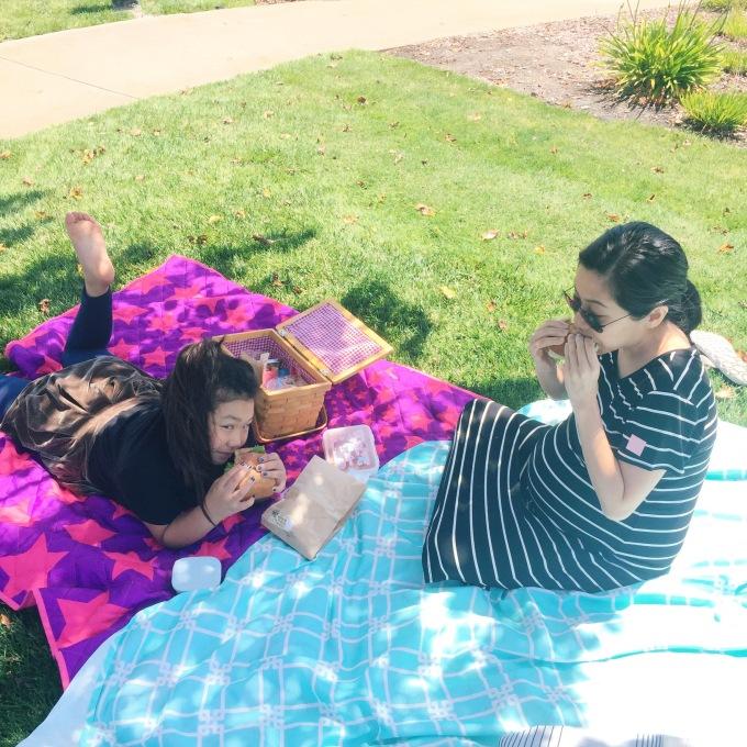 Impromptu picnics