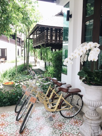 Bikes available for guests to use